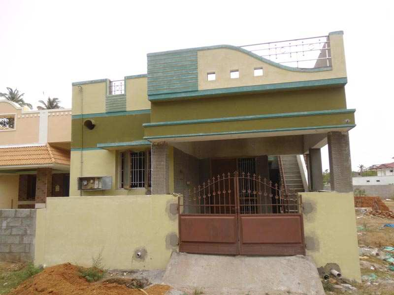 2 bhk individual house home for sale at erode rei324768 House architecture chennai