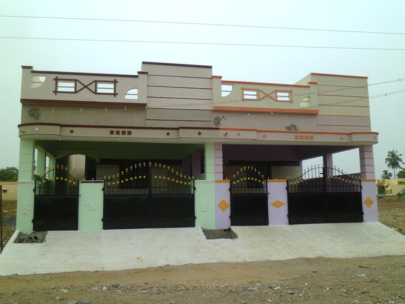 2 bhk individual houses villas for sale in erode 1050 for High ceiling house plans in tamilnadu