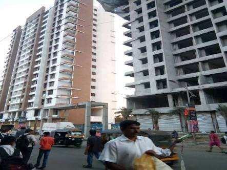 1 BHK 600 Sq.ft. Residential Apartment for Rent in Chandraghan Residency,near kalptaru jwelars,near s Thane