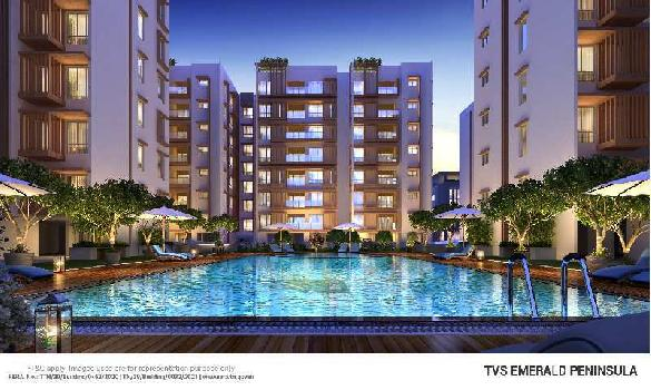3 BHK 1407 Sq.ft. Residential Apartment for Sale in Manapakkam, Chennai