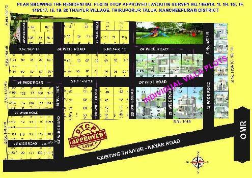 1200 Sq.ft. Residential Plot for Sale in Vandalure, Kelambakkam, Chennai