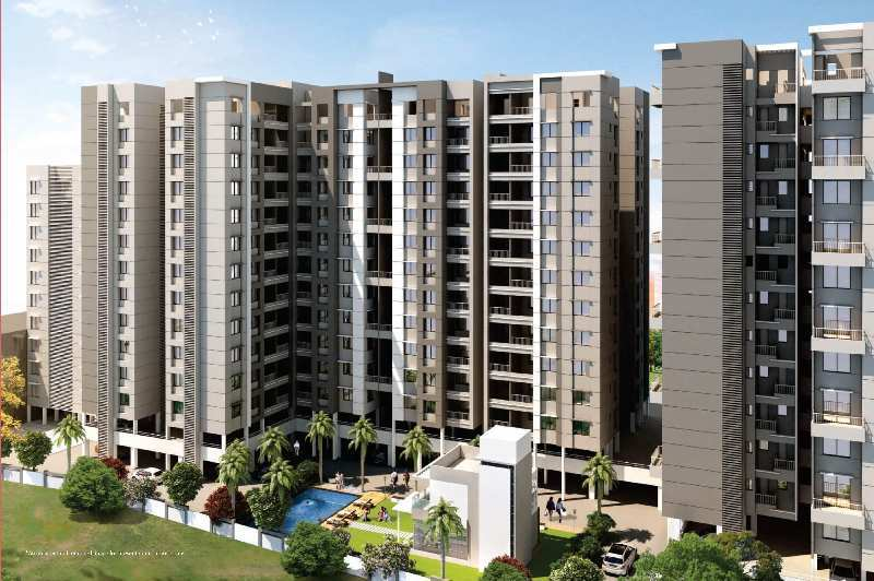 2 BHK 753 Sq.ft. Residential Apartment for Sale in Punawale, Pune