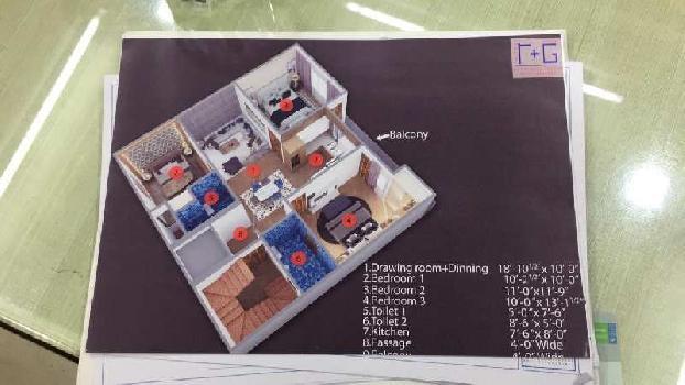 3 BHK 1000 Sq.ft. Builder Floor for Sale in Mansa Ram Park, Dwarka, Delhi
