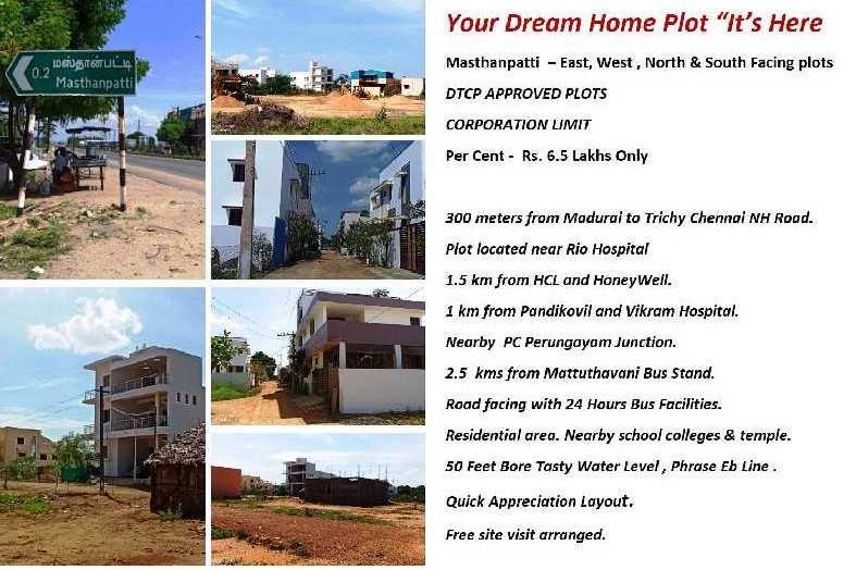 Farm Land for Sale in Gomathipuram, Madurai