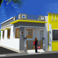 2 BHK 925 Sq.ft. House & Villa for Sale in Namakkal