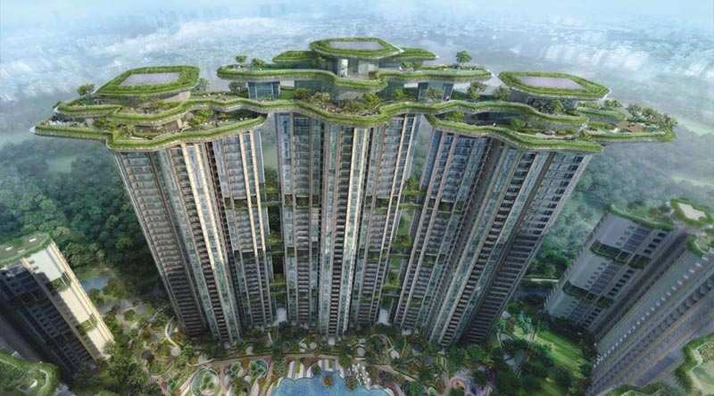 2 BHK Flats & Apartments for Sale in Golf Course Road, Gurgaon - 1200 Sq. Feet
