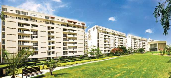 3 BHK Flats & Apartments for Sale in Sohna Road, Gurgaon - 2200 Sq.ft.