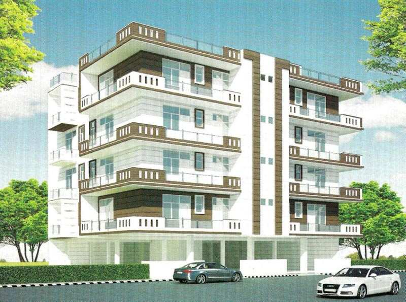 2 BHK Flats & Apartments for Sale in Lal Kuan, Ghaziabad - 960 Sq. Feet