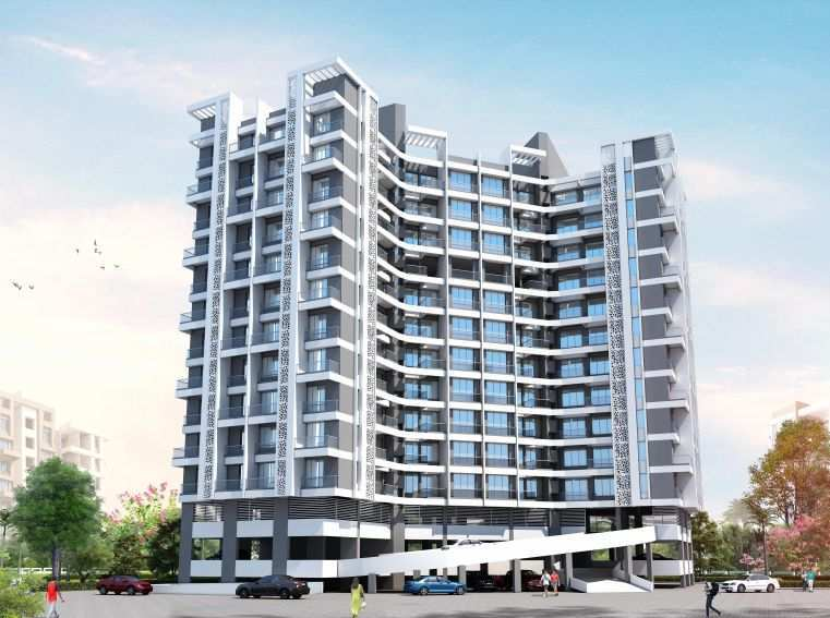 2 BHK 800 Sq.ft. Residential Apartment for Sale in Wakad, Pune