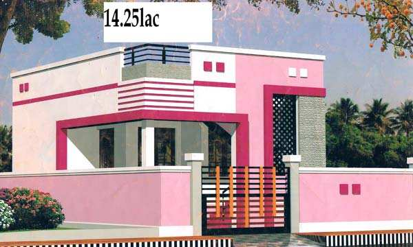 2 bhk individual house home for sale at thudialur for Tamilnadu house models