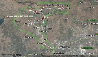 31500 Sq.ft. Industrial Land for Sale in Chakan, Pune