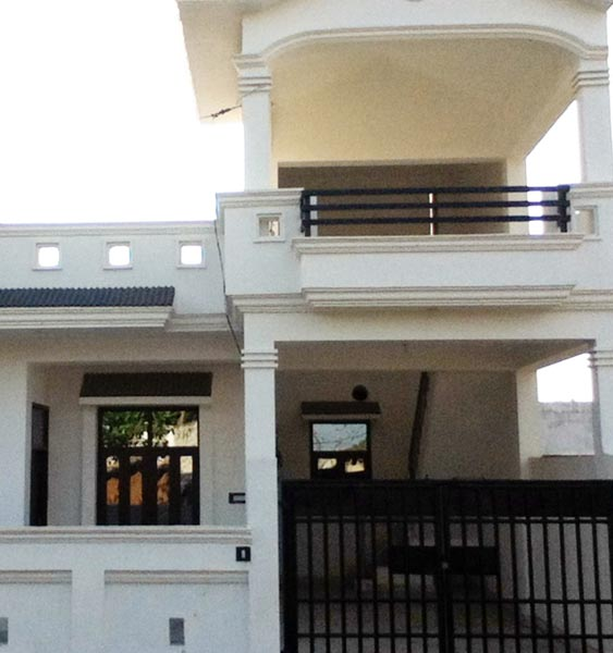 2 bhk individual house home for sale at indira nagar for Architecture design for home in lucknow