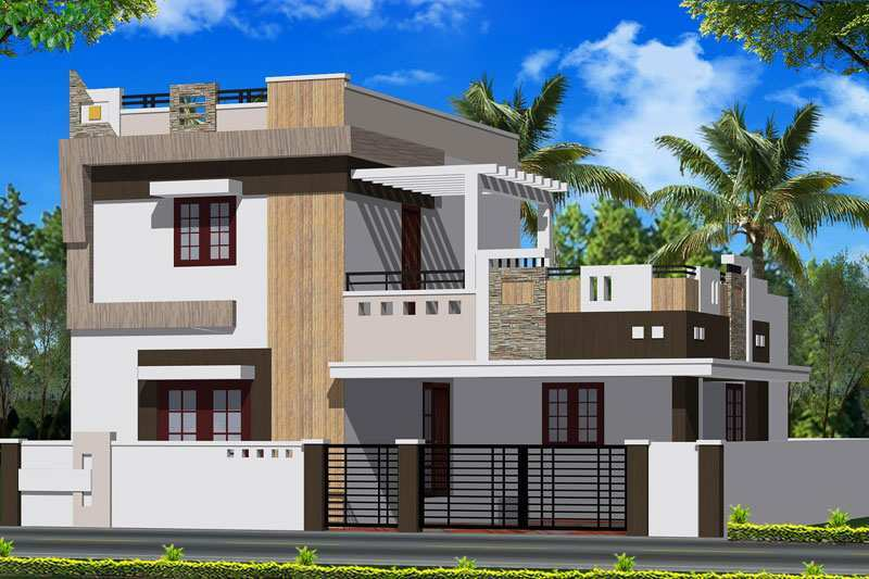 Front Elevation Of House In Coimbatore : Bhk individual house home for sale at kovaipudur