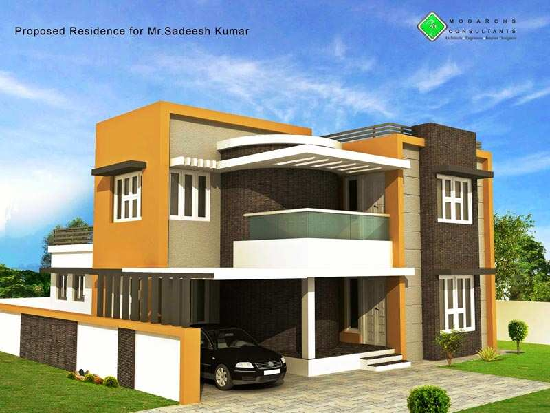 4 bhk individual house home for sale at palakkad Individual house plans