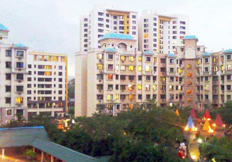 2 BHK Flats & Apartments for Rent in Majiwada, Thane - 1500 Sq. Feet