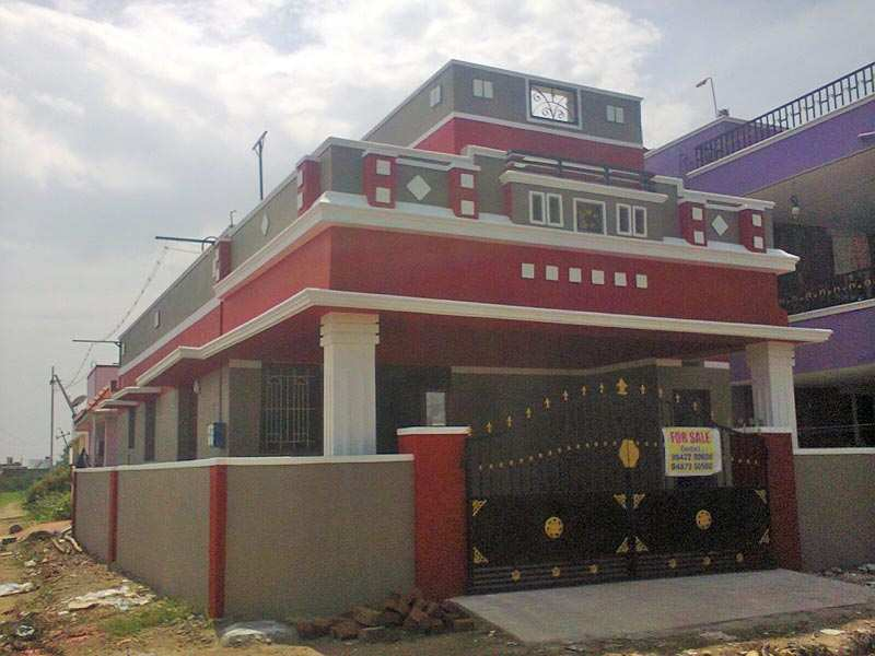 3 bhk individual house home for sale in narasimhanaicken for Individual house models in chennai