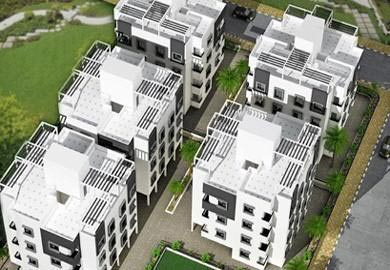 1 BHK Flats & Apartments for Sale in Murud - 605 Sq.ft.