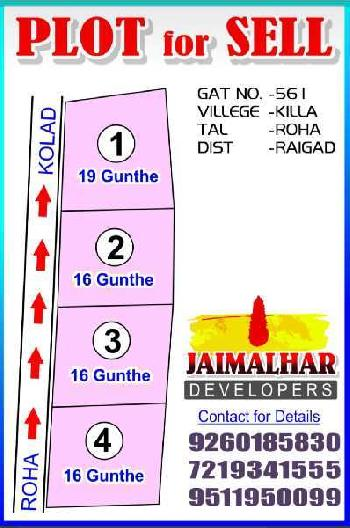 16 Guntha Commercial Land for Sale in Roha, Raigad
