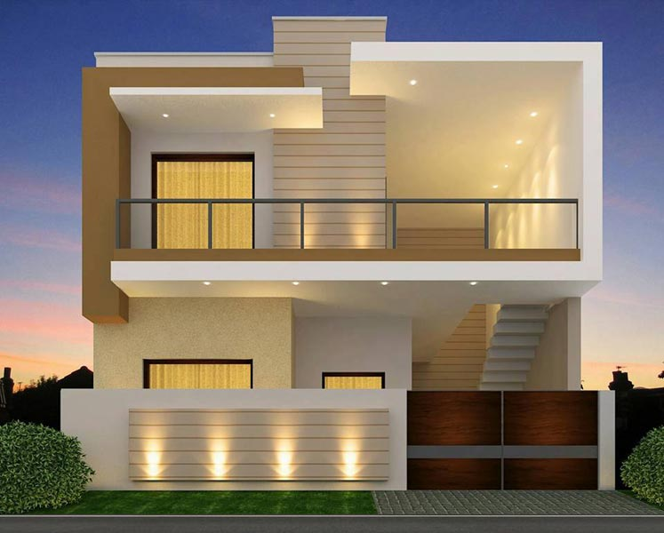 Front Elevation Of Houses In Punjab : Bhk individual house home for sale in toor enclave