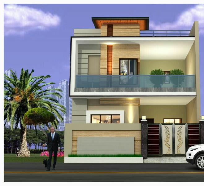 Kothi Construction Services: 4 BHK Individual House For Sale In Jalandhar (REI640859