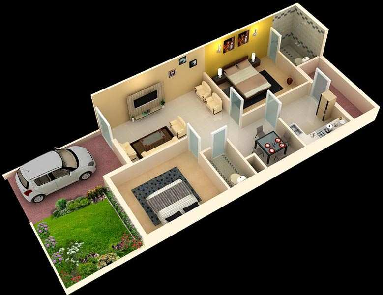2 Bhk Individual House Home For Sale In Saravanampatti
