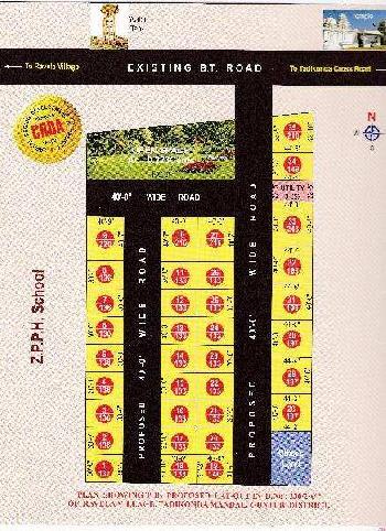 150 Sq. Yards Residential Plot for Sale in Ratnagiri Nagar, Guntur