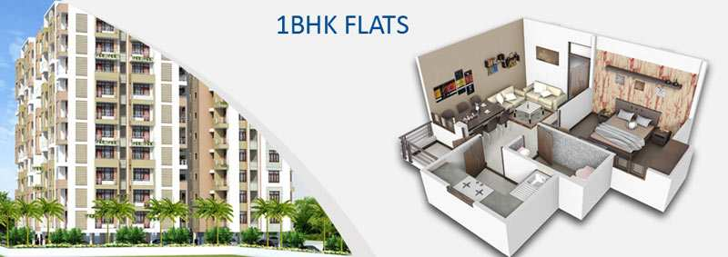 1 BHK Flats & Apartments for Sale in Alwar Bypass Road, Bhiwadi - 650 Sq.ft.