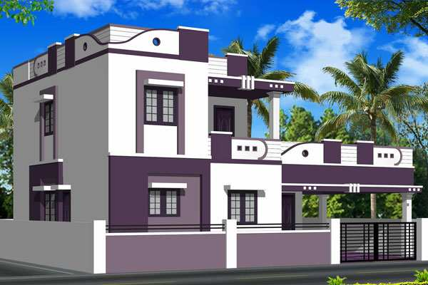 Individual house projects coimbatore house best design for Home architecture coimbatore