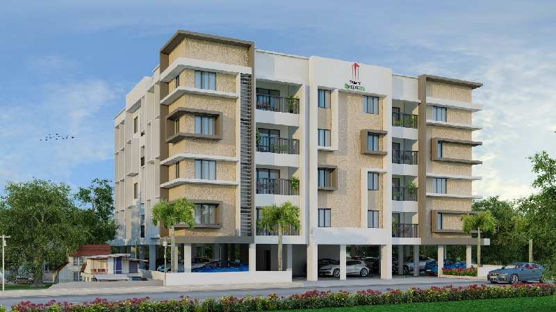 3 BHK 1171 Sq.ft. Residential Apartment for Sale in Palarivattom, Kochi