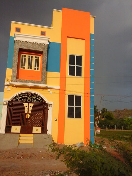 3 BHK Individual House/Home for Sale in Vellore - 1200 Sq.ft.