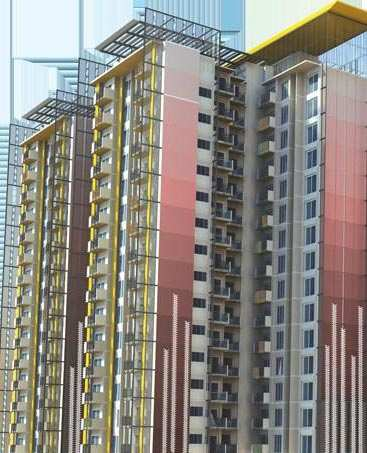 2 BHK Flats & Apartments for Sale in Sector 88, Mohali - 1095 Sq. Feet