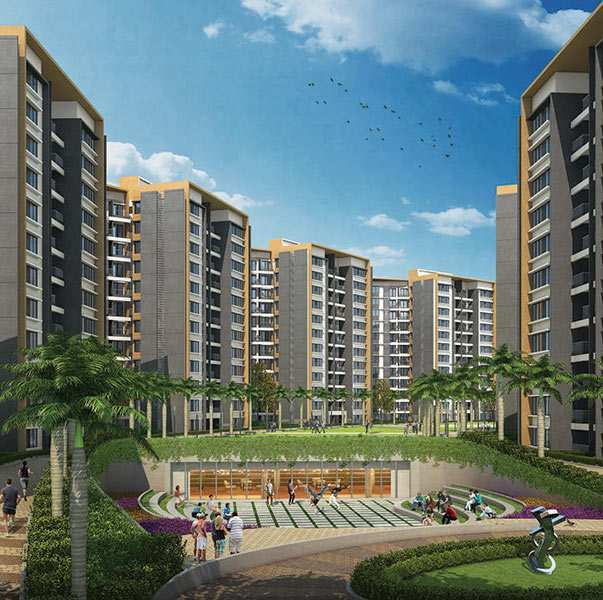 1 BHK Flats & Apartments for Sale in Pune - 690 Sq.ft.