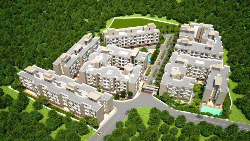 1 BHK Flats & Apartments for Sale in Taloja, Navi Mumbai - 632 Sq.ft.
