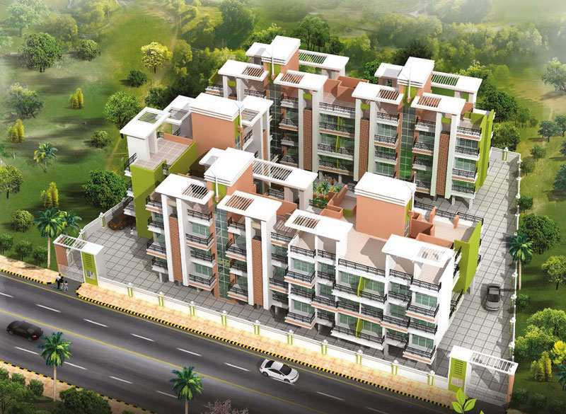 1 BHK Flats & Apartments for Sale in Panvel, Navi Mumbai - 635 Sq.ft.