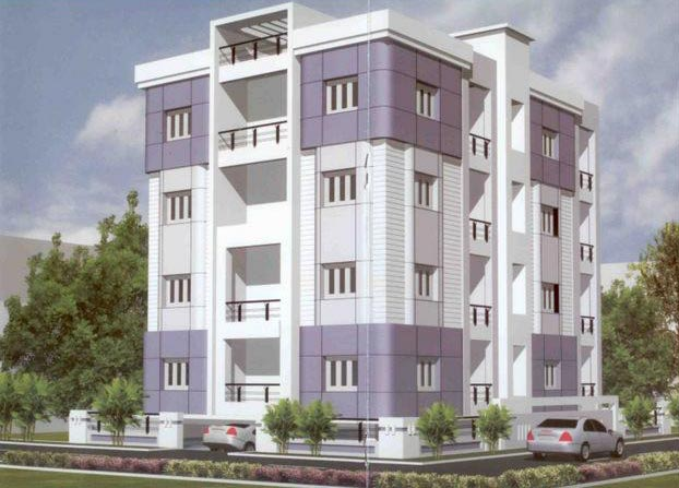 3 BHK Flats & Apartments for Sale in Jamshedpur - 1385 Sq.ft.