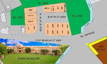 1250 Sq.ft. Residential Plot for Sale in Sector 11 Udaipur