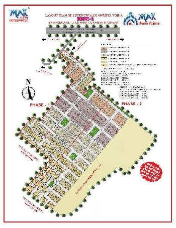 600 Sq.ft. Residential Plot for Sale in Lucknow Faizabad Highway