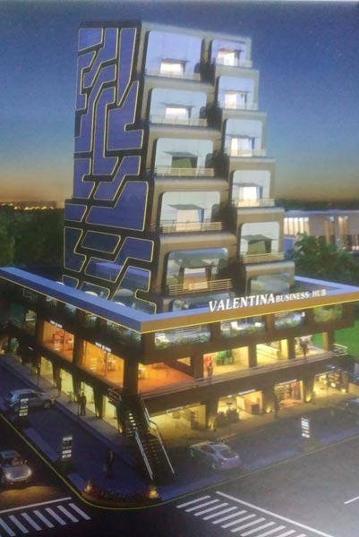3530 Sq. Feet Business Center for Sale in Pal, Surat - 3530 Sq.ft.