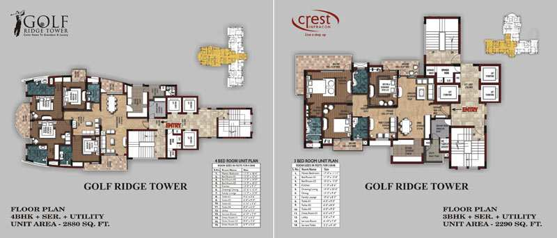 3 BHK Flats & Apartments for Sale in Ansal Golf City, Lucknow - 8 Acre