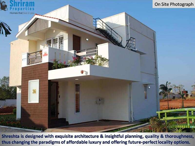 4 Bhk Bungalows / Villas for Sale in Coimbatore - 1740 Sq.ft.