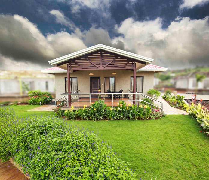 2 BHK Bungalows / Villas for Sale in Nashik - 3550 Sq.ft.