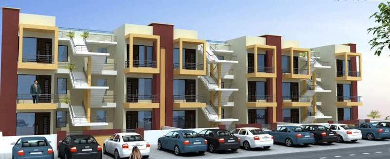 2 BHK Flats & Apartments for Sale in Sector 127, Mohali - 1100 Sq.ft.