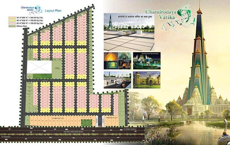 Residential Land / Plot for Sale in Mathura - 100 Sq. Yards
