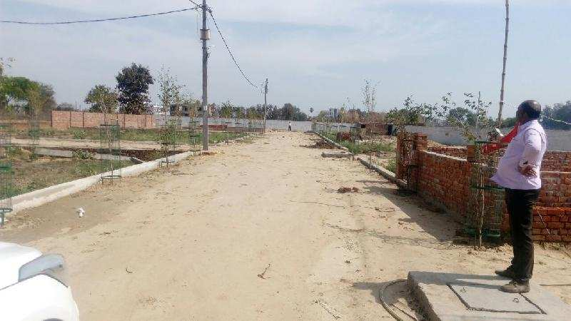 Residential Plot for Sale in Gomti Nagar Extension, Lucknow - 1210 Sq. Feet
