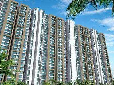 2 BHK Flats & Apartments for Sale in Kolshet Road, Thane - 820 Sq. Feet
