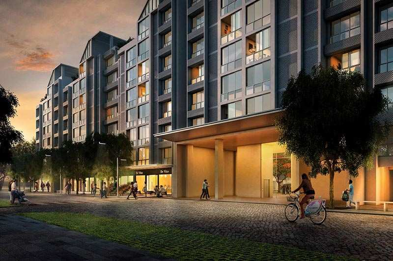 2 BHK Flats & Apartments for Sale in Greater Noida - 975 Sq. Feet