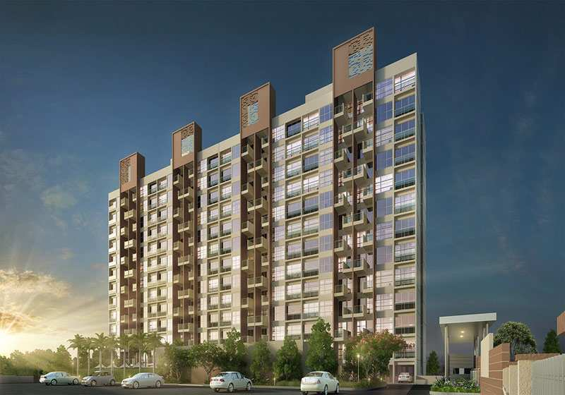 2 BHK Flats & Apartments for Sale in Hinjewadi, Pune - 867 Sq.ft.