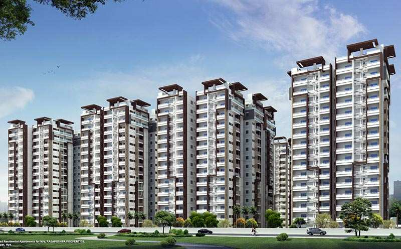 3 BHK Flats & Apartments for Sale in Gachibowli, Hyderabad - 1675 Sq.ft.