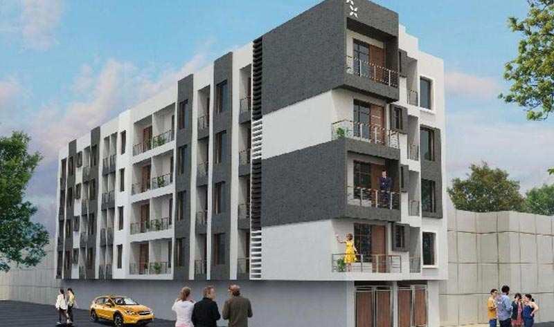 2 BHK Flats & Apartments for Sale in Mahipalpur, Delhi - 900 Sq.ft.