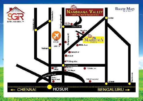 1200 Sq.ft. Residential Plot for Sale in MADAGONDAPALLI Krishnagiri